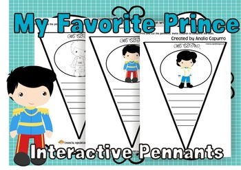 My Favorite Prince Interactive Pennants