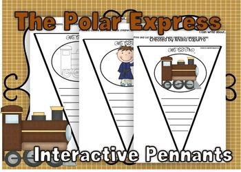 The Polar Express Interactive Pennants
