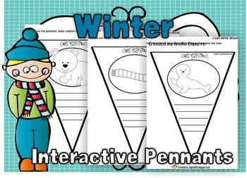 Winter Interactive Pennants
