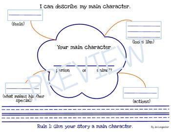 I can write an original story.