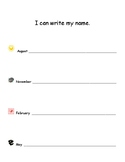 """I can write my name"" assessment"