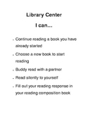 I can...Centers task lists