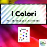 I colori (Colours) Italian