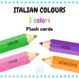 I colori flash cards (Italian colours)
