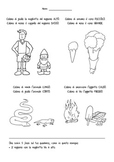 I contrari in italiano (the opposites in Italian)
