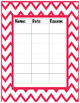 I did't do my homework! - homework binder - homework tracker