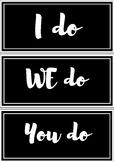 I do, We Do, You Do Labels