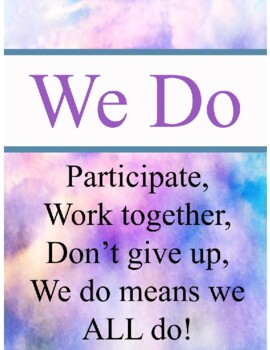 I do. We do, You do Poster