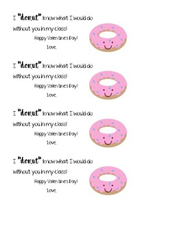"""I """"donut"""" know what I'd do without you"""