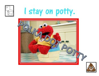 I Go Poop in the Potty Editable Personalized