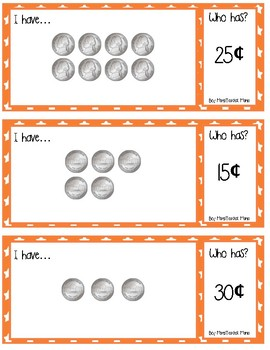 I have... Who Has?: A Game of Counting Nickels