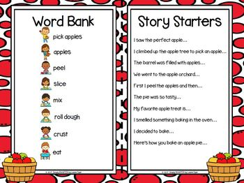 I have A Story In My Pocket:  LOW PREP Apple Storytelling Activities