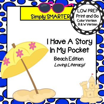 I have A Story In My Pocket:  LOW PREP Beach Storytelling Activities