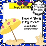 I have A Story In My Pocket:  LOW PREP Beach Storytelling