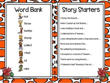I have A Story In My Pocket:  LOW PREP Fall Leaves Storytelling Activities
