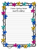 I have Spring Fever ~Creative Writing
