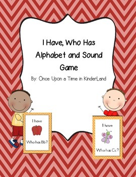 I have, Who Has Alphabet and Sound Game