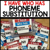 I have, Who Has (Change one letter to make a new word)