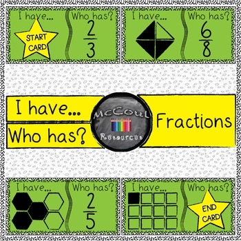 Fractions - I have who has game