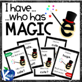 "I have, Who Has? CVCe ""Magic E"" Phonics Game"