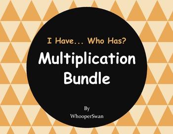 I have, Who Has - Multiplication Bundle