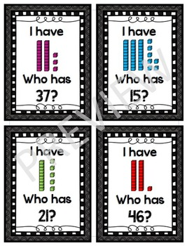 I have... Who Has?  Place Value Edition