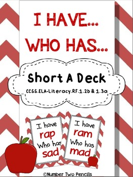 I have, Who Has: Short A