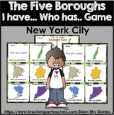 I have Who Has The Five Boroughs of New York City Game