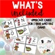 I have Who Has game Alphabet Christmas Treats edition