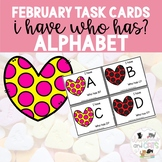 I have Who Has game Alphabet Valentine edition