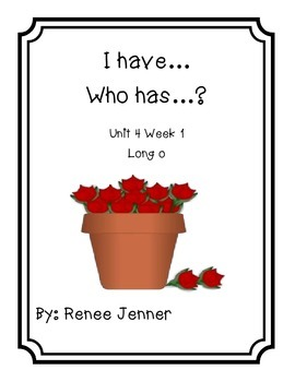 I have Who Has?Bundle Pack First Grade Reading Treasures Unit 4