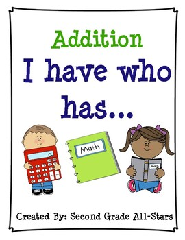 I have, Who has Addition Game