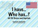 I have... Who has...? All 50 States and Capitals