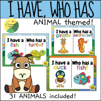 I have, Who has-Animals
