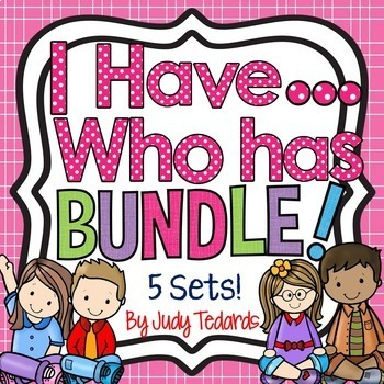 I have...Who has...BUNDLE! (5 Different Game Sets)