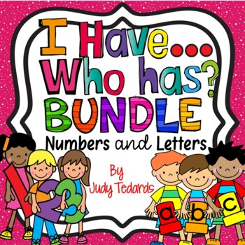 I have...Who has...BUNDLE! (ABC's and Numbers to 20)