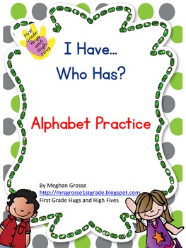 I have, Who has- Beginning Sounds Practice