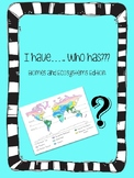 I have, Who has..?? Biomes and Ecosystems Edition