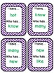 I have... Who has? Cards for First Grade High Frequency/Si