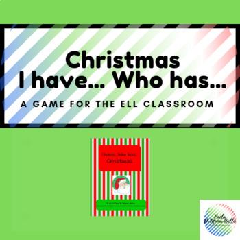 I have... Who has... Christmas