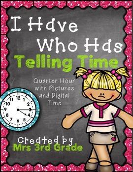I have, Who has Clocks BUNDLE