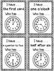 I have, Who has Clocks - Mixed Time