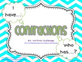 I have, Who has? Contractions Game