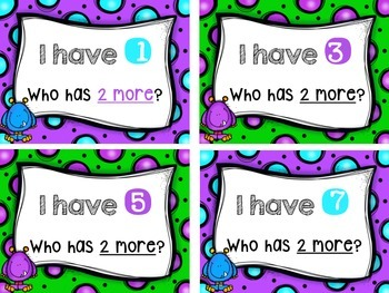 I have Who has Counting by 2's and 3's