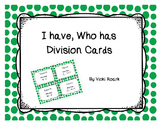 I have, Who has Division Cards