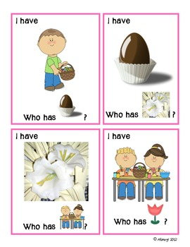 I have... Who has...? Easter