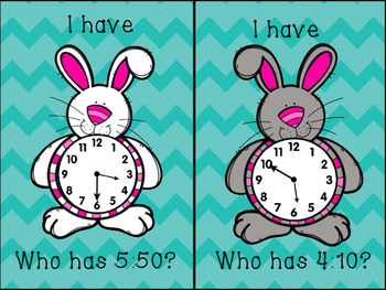 I have, Who has Easter Time
