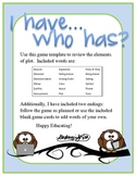 """""""I have, Who has?"""" Elements of Plot Review Game"""