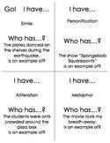 I have... Who has??? Figurative Language