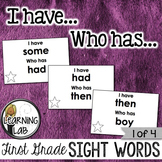 First Grade Sight Words (1 of 4)
